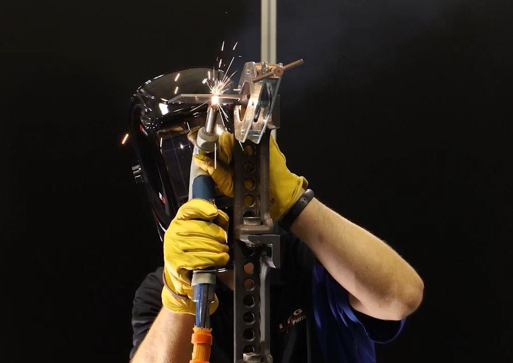pistola soldadora a laser portátil