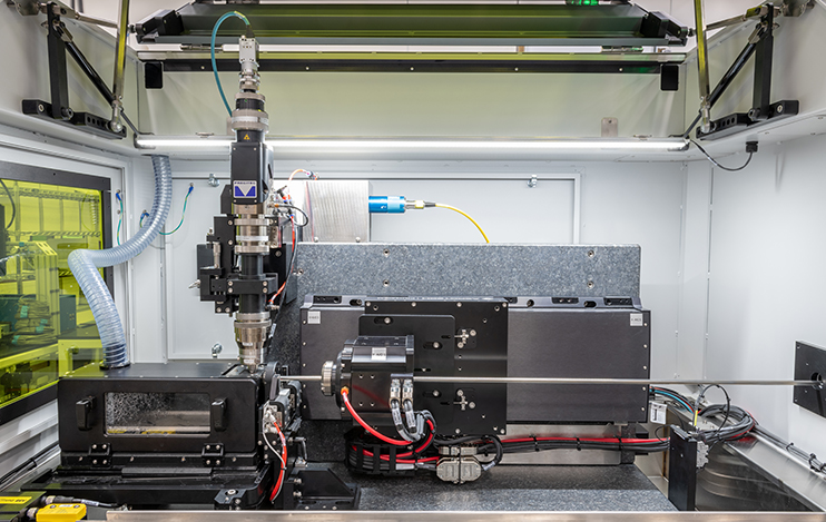 Inside the ILT Versa - a stent cutting laser system by IPG Photonics