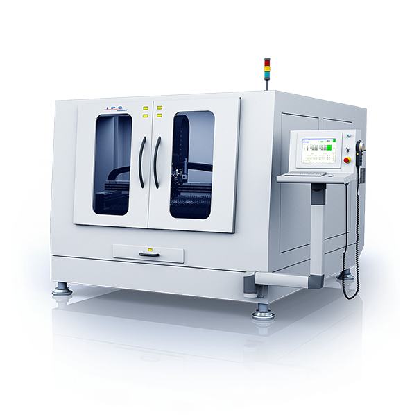 IPG LaserCube - compact flatbed laser cutting machine
