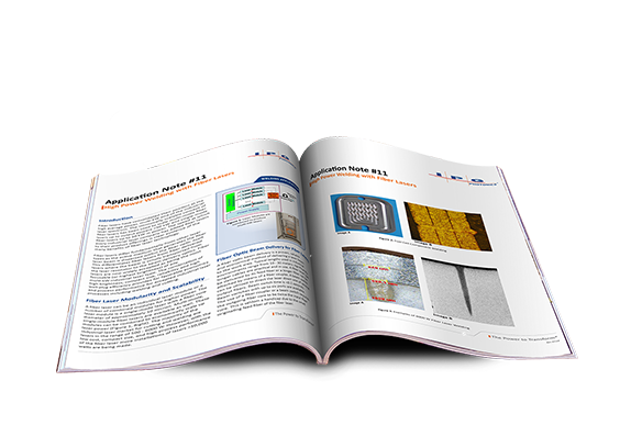 high power welding with fiber lasers application note