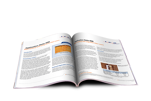 spot welding with long pulse lasers application note